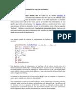 Investigacion de Programacion