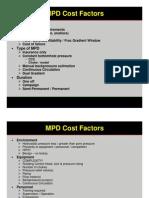 Session 9 - MPD Cost Factors