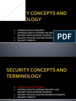 Chapter 1 - Security Concepts