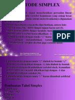03 Metode Simplex