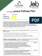 Employment Pathway Plan Disadvantage Declaration 26 Nov 2012