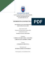 INFORME FINAL DE PRÁCTICA PFF. (Carrasco & Cabrera, 2012)