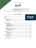 Kyani Comp Plan 2012