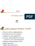 Chapter 2.0 Abstract Window Toolkit (AWT)