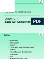 Chapter 2.1 Basic GUI Components