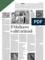 Il Medioevo e Altri Animali - Il Manifesto 22.12.2012