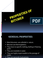 properties of bitumen