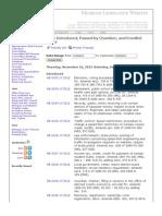 Michigan Legislature - Summary During Lame-Duck Session 2012