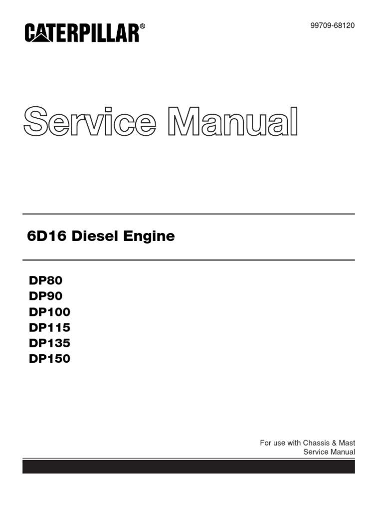 caterpillar service manual | Cylinder (Engine) | Piston