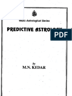 Predictive Jyotish by m n Kedaar