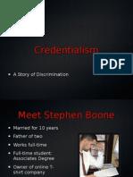 Credentialism Power Point