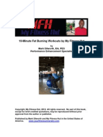 10 Minute Fat Burning Workouts by My Fitness Hut