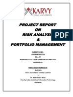 risk analysis project report