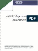 Abilitati de promovare si persuasiune