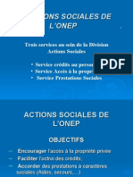 ACTIONS SOCIALES A L'ONEP_F