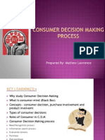 Consumer Decesion Making Process