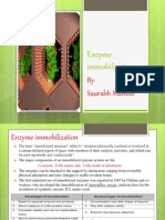 enzyme immobilisation