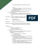 Detailed Lesson Plan 1