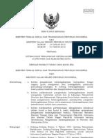 Permen No.51 Th 2012 Pengawasan Ketenagakerjaan