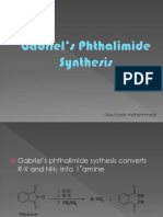 Gabriel's Phthalimide Systhesis