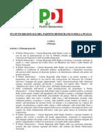 statuto PD Puglia