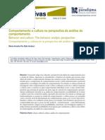 B - ANDERY,M.(2011) - Comportamento e Cultura Na Perspectiva Da AC