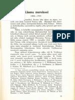 Kasmu Merekool, autor Karl Larens 1938