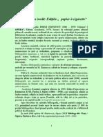 Eminescu Inedit - Editiile Eminescu Papier a Cigarette