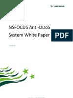 NSFOCUS Anti-DDoS System White paper