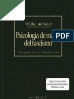 Wilhelm Reich Psicologia de Masas Del Fascismo
