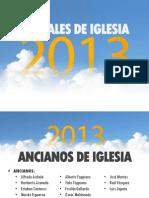 Oficiales de Iglesia 2013