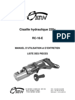 Cisaille Hydraulique