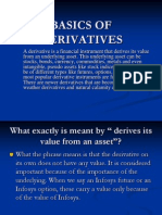 Basics of Derivatives