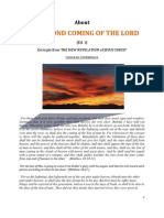 Brochure - NEW REVELATION - ABOUT THE SECOND COMING OF JESUS CHRIST - ed 1