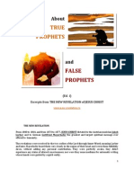 Brochure - NEW REVELATION - ABOUT TRUE AND FALSE PROPHETS - ed 1