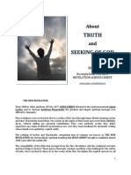 Brochure - NEW REVELATION - ABOUT TRUTH AND SEEKING FOR GOD - ed 1