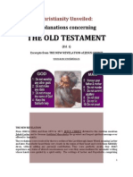 Brochure - NEW REVELATION - CHRISTIANITY UNVEILED - Old Testament - ed 1