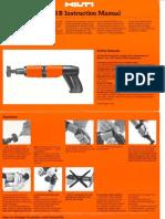 DX 400B Operators Manual