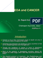 Cancer and Ayurveda
