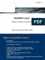 HostGIS Linux at OSGeo 2005