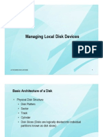 Chap02 Managing Local Disk Devices