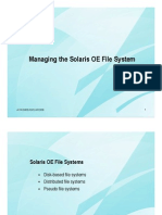 Chap03 Managing the Solaris OE File System