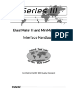 BMIII Interface Handbook