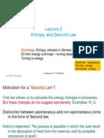 Concept of entropy