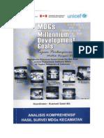 Publikasi - [BPS RI] Analisis Komprehensif Hasil Survei MDGs Kecamatan