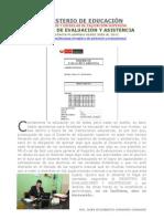 DE DONDE DESCARGAR PLANTILLA EN MS EXCEL DE REGISTRO DE EVALUACIONES Y ASISTENCIAS