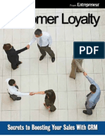 Entrepreneur eBook Customer Loyalty