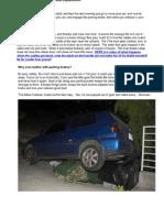 MKIII Parking Brake