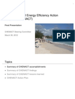 Caribbean Hotel Energy Efficiency Action Program (CHENACT) - Final Presentation, 3-2012