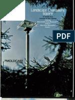 Moldcast Lighting Landscape Chandeliers Square Brochure 1978